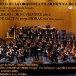 Excursión desde Estepa al Concierto de la Orquesta Filarmónica de Málaga