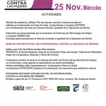 Marcha con motivo del Día Internacional Contra la Violencia de Género