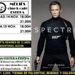 Cine en Estepa: sábado y domingo con el agente 007