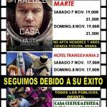 Cine en Estepa: Marte y Hotel Transilvania 2