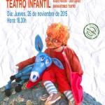 "Teatro infantil en Estepa: ""Platero, cuéntame"" de Barakatemus Teatro"