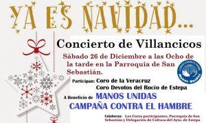 Concierto de Villancicos en Estepa