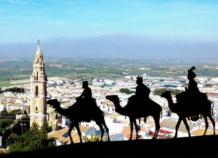 Cabalgata de los Reyes Magos 2017 en Estepa