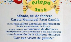 Carnaval de Estepa 2016 (Programa de actos)