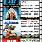 Cine en Estepa: Cartelera del 29 de enero al 2 de febrero
