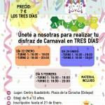 Taller de Carnaval en Estepa