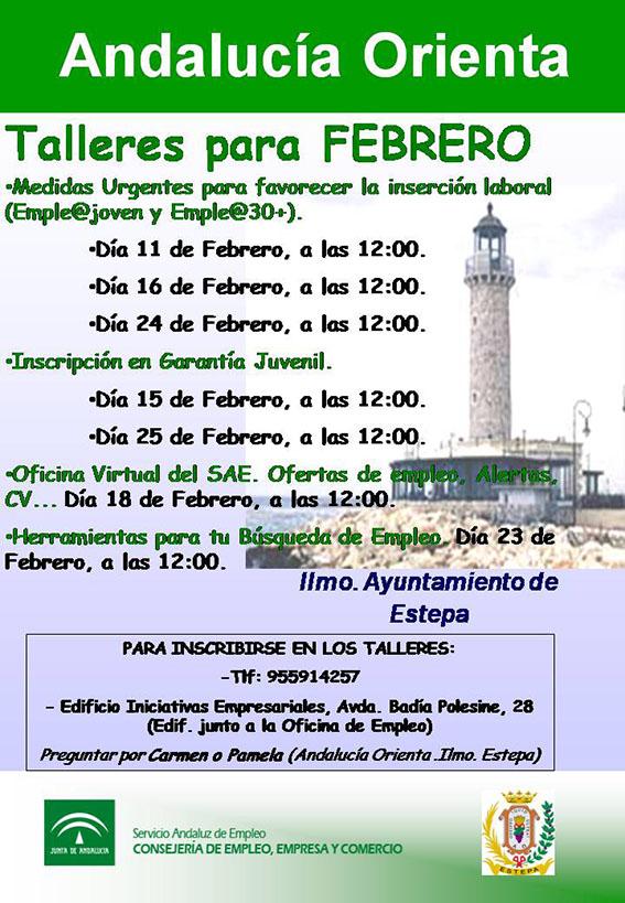 Talleres andaluc a orienta en estepa estepa sevilla andaluc a - Oficina virtual andalucia ...