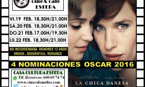 Cine en Estepa: Cartelera del 20 al 22 de febrero