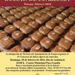 IV Concurso de Dulces Típicos de Cuaresma en Estepa 2016