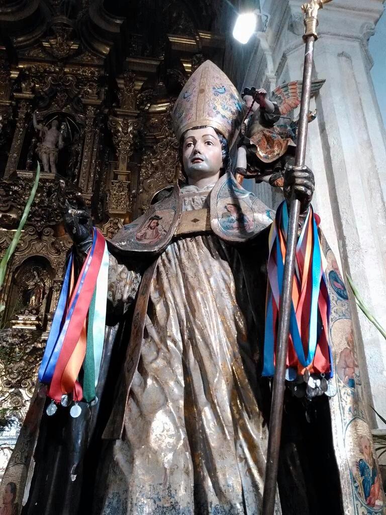 Bendición de Roscas y Hornazos de San Blas en San Sebastián y Los Remedios