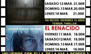 Cine en Estepa: fin de semana del 11 al 13 de marzo