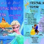 Del 1 al 3 de abril, Festival Infantil en Estepa
