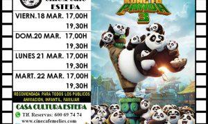 Cine en Estepa: Kung Fu Panda 3
