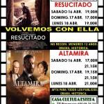 """Cine en Estepa: """"Resucitado"""" y """"Altamira"""""""