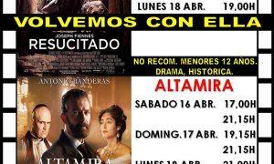 Cine en Estepa: «Resucitado» y «Altamira»