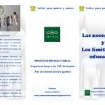 Taller para padres y madres en Estepa: Las necesidades y límites en la educación