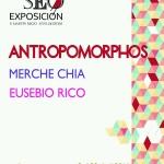 """Exposición en Estepa: """"Antropomorphos"""", de Merche Chia y Eusebio Rico"""