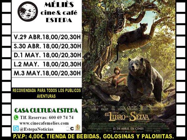 el-libro-de-la-selva-cine-estepa-sevilla-horario