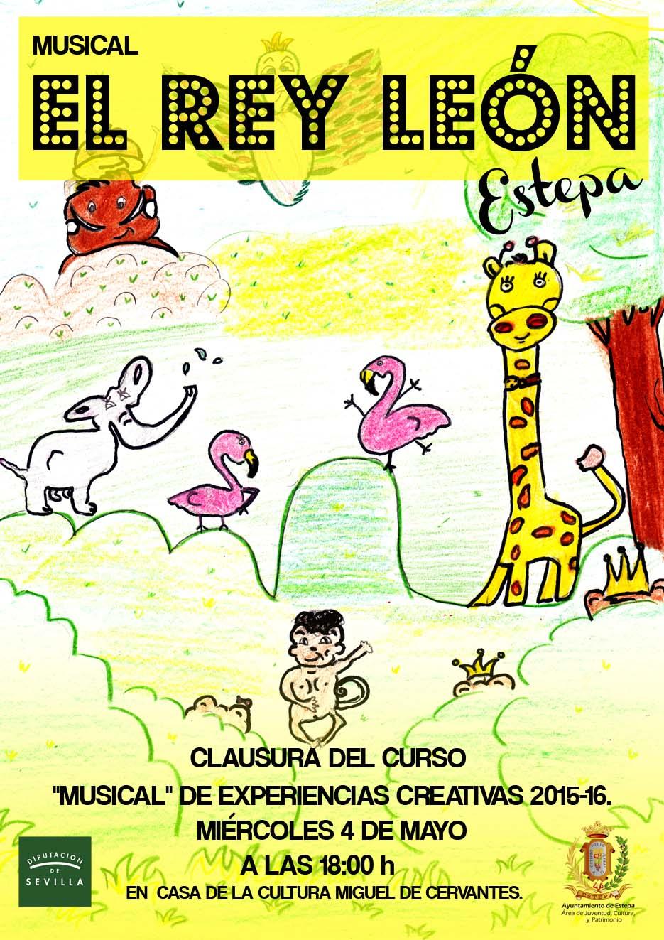 musical-el-rey-de-leon-casa-cultura-estepa-sevilla-andalucia-gratis