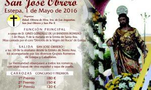Romería en honor a San José Obrero 2016 en Estepa