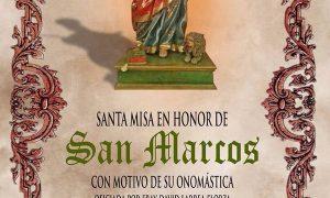 Santa Misa en honor de San Marcos en Estepa