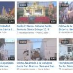 Vídeos de la Semana Santa de Estepa 2016
