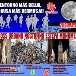 """II Cross Urbano Nocturno """"Estepa Monumental"""" a beneficio de Cáritas"""