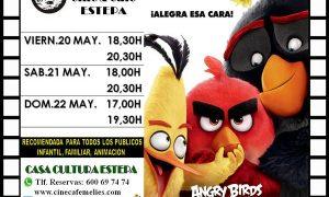 Cine en Estepa: «Angry Birds»