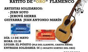 I Festival Solidario Flamenco de Estepa «Ratito de Oro»