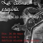 """Presentación del libro """"La Dama Esquiva"""" en Estepa"""