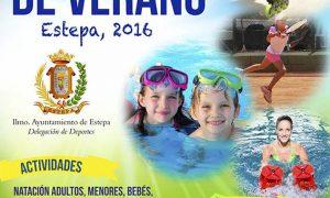 Abierto el plazo de solicitud para las Actividades Deportivas del Verano 2016 en Estepa