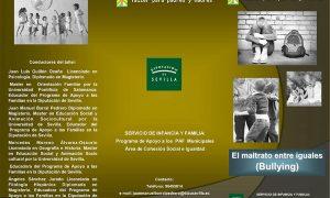 Taller para padres y madres en Estepa: «El maltrato entre iguales (bullying)»