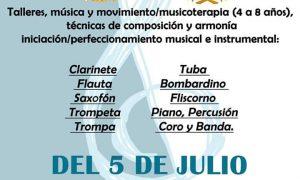 Escuela de verano de Amigos de la Música en Estepa