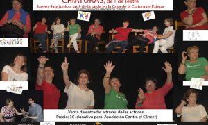 Teatro Solidario en Estepa: «Criaturas, de T de Teatre»