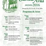 Programación de la Velá de Santa Ana 2016 en Estepa