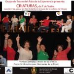 """Teatro en Estepa: """"Criaturas"""", representado por el grupo de teatro del Aula de la Experiencia"""