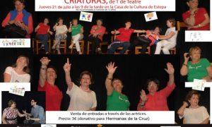 Teatro en Estepa: «Criaturas», representado por el grupo de teatro del Aula de la Experiencia