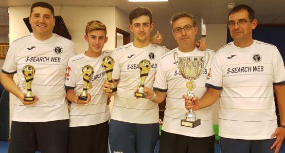 Tiburones FM de Estepa, primer equipo español en la historia en ganar un Major