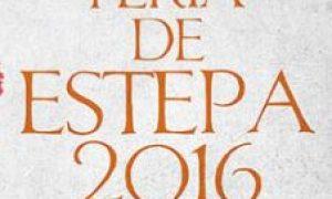 Cartel de la Feria de Estepa 2016