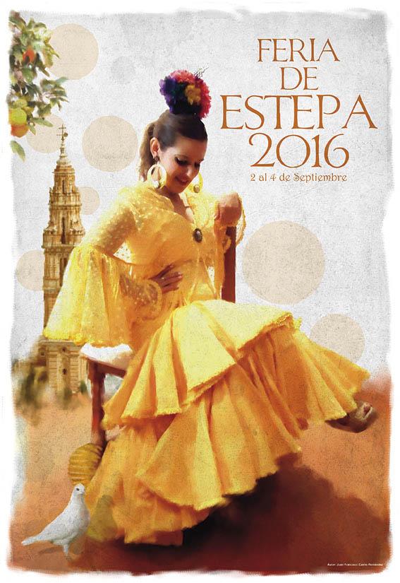 cartel-feria-estepa-2016-juan-francisco-castro-fernandez-sevilla-andalucia