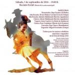 Exhibición ecuestre en la Feria de Estepa 2016