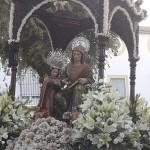 Procesión de Santa Ana por las calles de Estepa