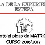 Abierto el plazo de matrícula para el curso 2016/2017 del Aula de la Experiencia