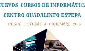Nuevos cursos de informática en el Centro Guadalinfo de Estepa