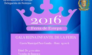 Gala Infantil de la Reina de la Feria de Estepa 2016
