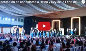 Así se presentó a los candidatos a Reina y Rey de la Feria de Estepa 2016