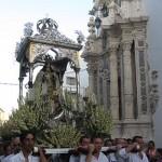 Procesión Gloriosa de Nuestra Señora del Carmen por las calles de Estepa