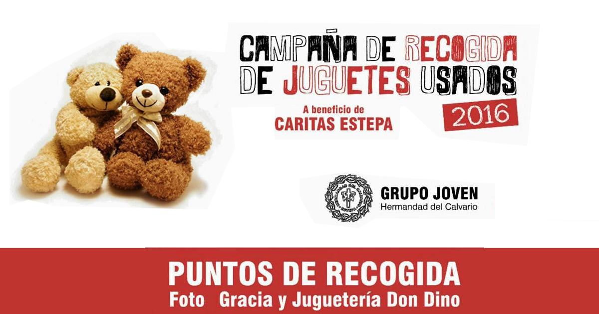 Campaña de recogida de juguetes usados en Estepa