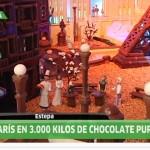 Así fue el reportaje de Andalucía Directo en la Ciudad de Chocolate de La Estepeña