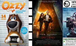Cine en Estepa: «Ozzy» e «Inferno»